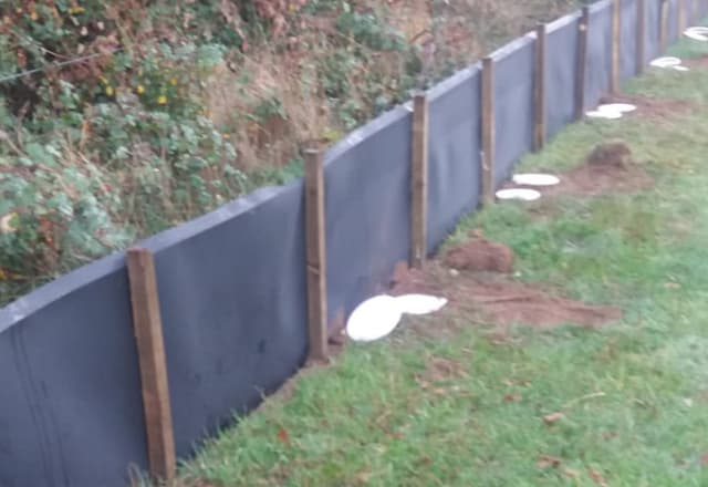 Ecologist Fencing - Newt Fencing